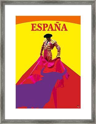Matador De Toros Framed Print by Joaquin Abella
