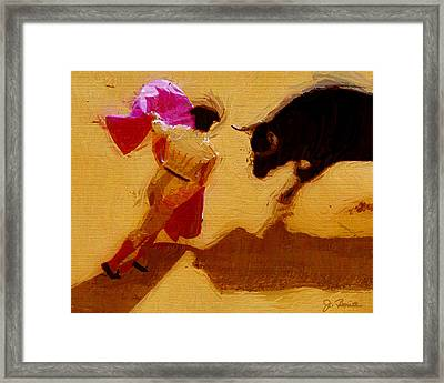 Matador Framed Print by Joe Bonita