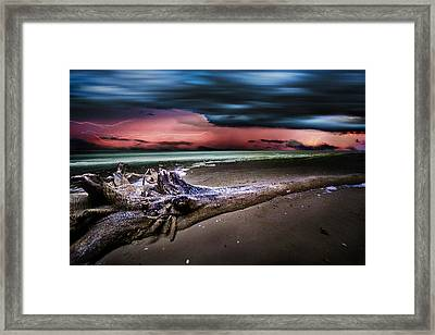 Matagorda Dream Framed Print by Matt Smith