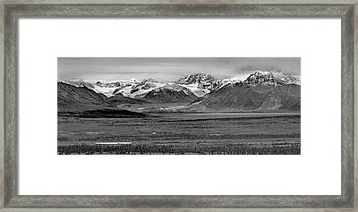 Matanuska-sustina Pano Framed Print