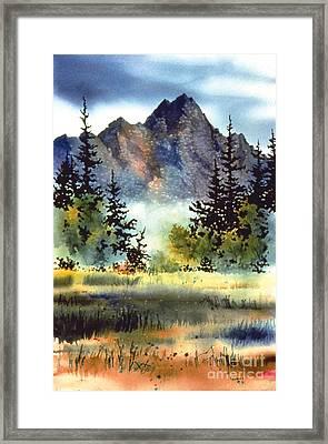 Matanuska Framed Print by Teresa Ascone
