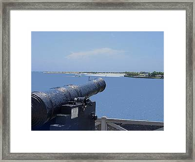 Matanzas Inlet Framed Print by Kenneth Albin