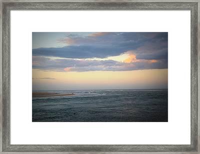 Matanzas Inlet Framed Print by Mandy Shupp