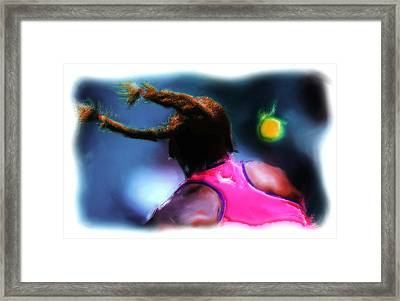Match Point Framed Print by Brian Reaves