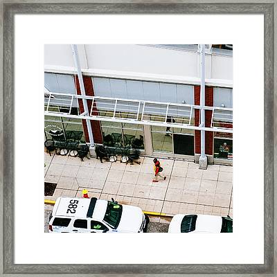 Matching - St. Louis Street Photography Framed Print by Dylan Murphy