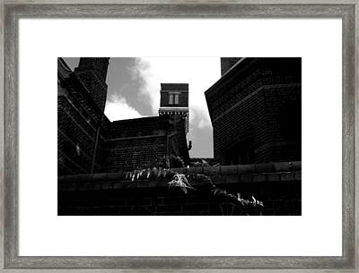 Matchless Darkness Framed Print by Jez C Self