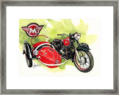 Matchless G4 Framed Print