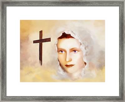 Mater Dolorosa Framed Print by Valerie Anne Kelly