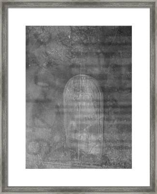 Materialism  Framed Print