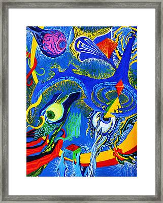 Materialized Mind Framed Print by Maxwell Hanson