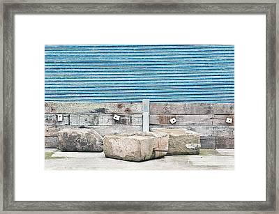 Materials Framed Print by Tom Gowanlock