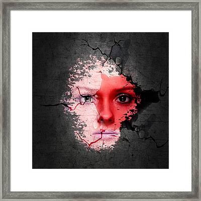 Maternal Instinct Framed Print by Solomon Barroa