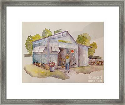 Maters And Taters Framed Print