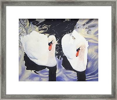 Mates Framed Print