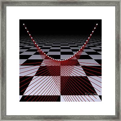 Mathematics  -2- Framed Print by Issabild -