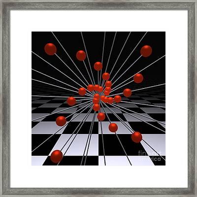 Mathematics   -3- Framed Print by Issabild -