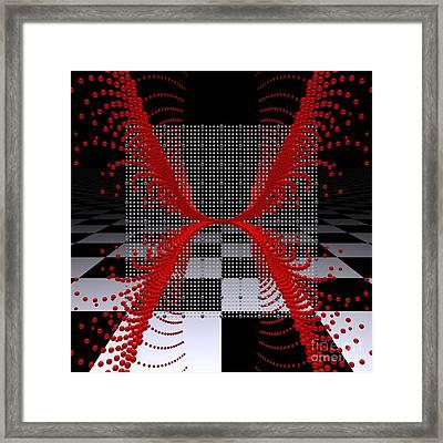 Mathematics  -9- Framed Print by Issabild -