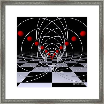 Mathematics  -1- Framed Print by Issabild -
