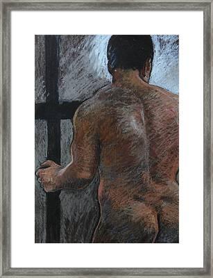 Mathew's Back. Framed Print