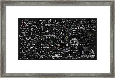Maths Formula Framed Print