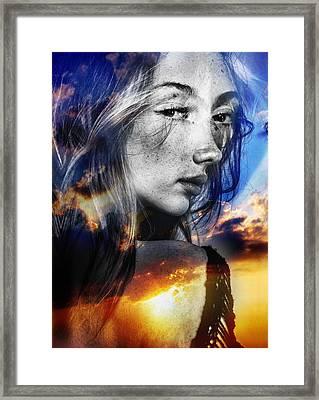 Matilda's Sunset Framed Print by Maciej Mackiewicz