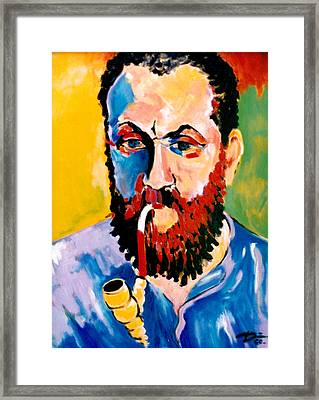 Matisse Framed Print by Hans Doller