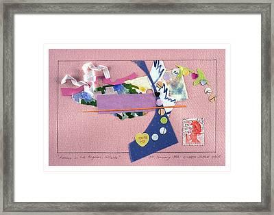 Matisse In Los Angeles Framed Print by Eileen Hale