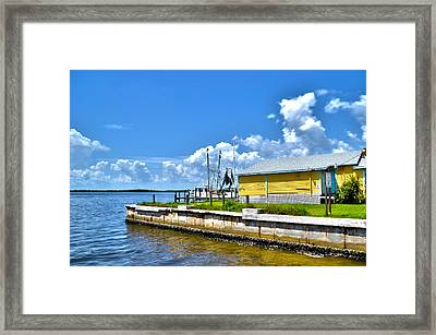 Matlacha Florida Waterway Framed Print by Timothy Lowry
