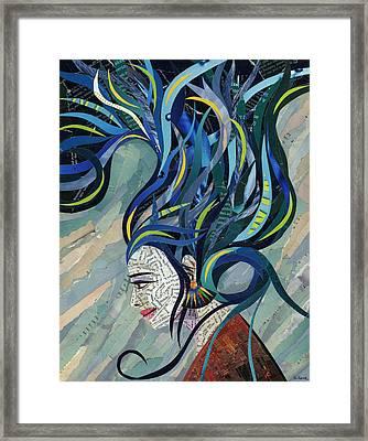 Matriarch Framed Print by Shawna Rowe