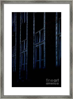 Matrix Framed Print by Amanda Barcon