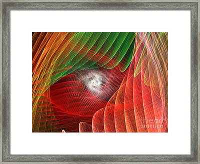 Matrix Framed Print by Kim Sy Ok