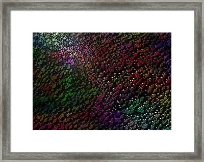Framed Print featuring the digital art Matrizzavano by Jeff Iverson