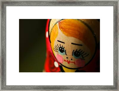 Matryoshka Doll Framed Print by Edward Myers