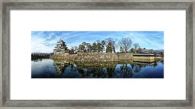 Matsumoto Castle Panorama Framed Print