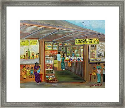 Matsumoto Shave Ice Store, Haleiwa Hawaii Framed Print by Julie Patacchia