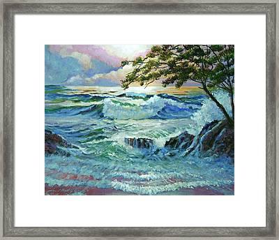 Matsushima Coast Framed Print by David Lloyd Glover