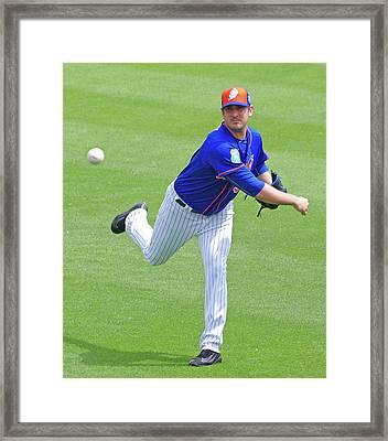 Matt Harvey New York Mets Framed Print