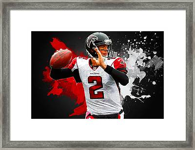 Matt Ryan Framed Print by Semih Yurdabak