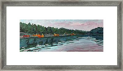 Mattawa Morning Framed Print