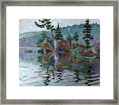 Mattawa Pines Framed Print by Phil Chadwick