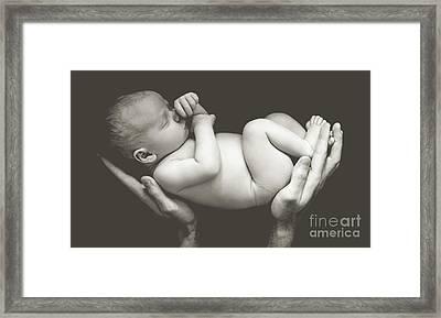 Matte Baby Art Framed Print