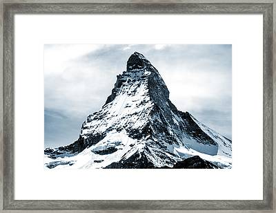 Matterhorn Framed Print by Design Turnpike