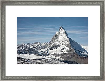 Matterhorn Framed Print by Marty Garland