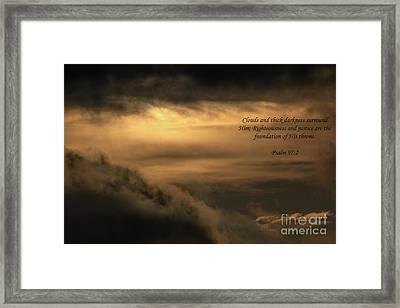 Matthew 26 Framed Print by Dale Powell