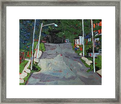 Matthew Street Framed Print by Phil Chadwick