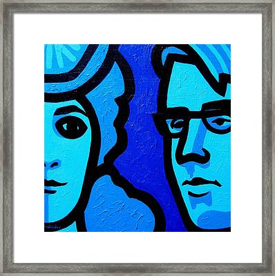 Maud Gonne And William Butler Yeats Framed Print