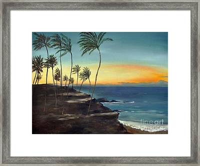 Framed Print featuring the painting Maui by Carol Sweetwood