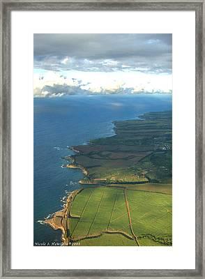 Maui Coastline Framed Print by Nicole I Hamilton