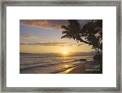 Maui, Kaanapali Beach Framed Print by Greg Vaughn - Printscapes