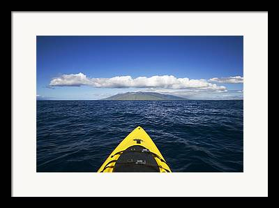 Open Ocean Kayaks Framed Prints
